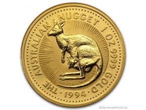 4562 investicni zlata mince australsky klokan 1994 nugget 1 oz