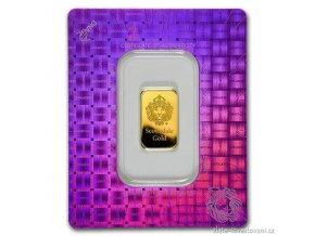 Investiční zlatý slitek Lev-Scottsdale-Argor 5g