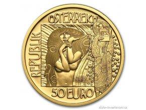 4700 zlata mince medicina 2015 klimtova serie