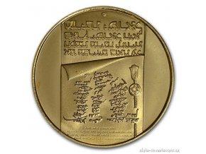 4778 zlata mince 100 lirot 1973 israel