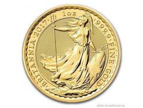 5003 investicni zlata mince britannia 2017 1 oz