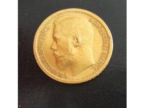 5024 zlata mince rusky 15 rubl car nikolaj ii 1897