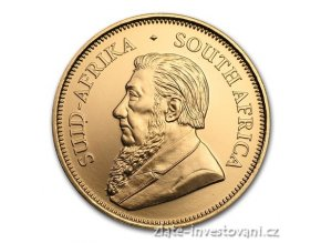 5069 investicni zlata mince krugerrand 2017 50 vyroci 1 oz