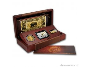 5099 zlaty buffalo proof set 10 vyroci 2016