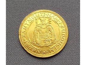 Zlatý svatováclavský dukát 1924