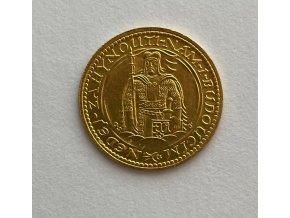 5279 zlaty svatovaclavsky dukat 1936