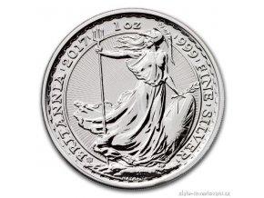 5336 investicni stribrna mince britannia 2017 20 vyroci