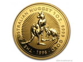 5354 investicni zlata mince australsky klokan 1996 nugget 1 oz
