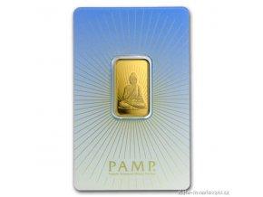 Investiční zlatý slitek Budha-PAMP Švýcarsko 10g