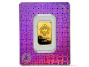 Investiční zlatý slitek Lev-Scottsdale-Argor 10g