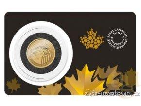 5474 investicni zlata mince puma volani divociny 2015 1 10 oz