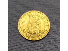 5480 zlaty svatovaclavsky dukat 1928