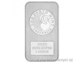 Investiční stříbrný slitek Australský klokan- Perth Mint 1 Oz