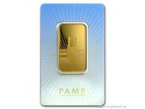 Investiční zlatý slitek Mekka-PAMP 1 Oz