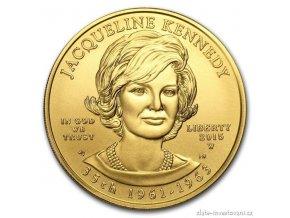5867 zlata mince jacqueline kennedy 2015 serie prvni damy usa 1 2 oz