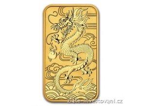 Zlatá mince rok Draka 2018 1  Oz