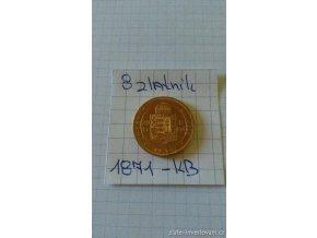 5918 zlata mince osmizlatnik frantiska josefa i uherska razba 1871 kb