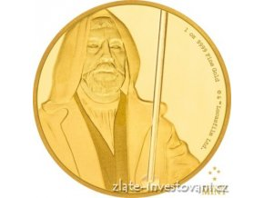 5969 investicni zlata mince obi wan kenobi star wars 2016 proof 1 oz