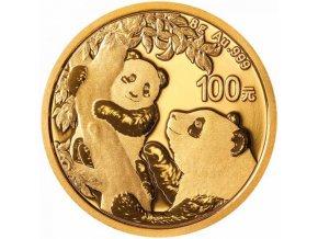 6005 investicni zlata mince cinska panda 2018 8g