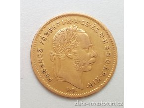 6053 zlaty ctyrzlatnik desetifrank rocnikovy 1871 k b
