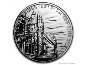 6065 investicni stribrna mince tower bridge 2018 1 oz