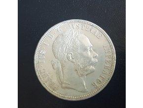 6113 stribrny 1 zlatnik frantiska josefa i 1878