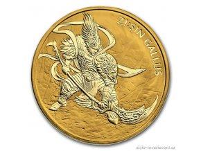 Investiční zlatá mince Gallus 2017-Jižní Korea 1 Oz