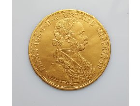 6290 1 zlata mince ctyrdukat frantiska josefa i 1911