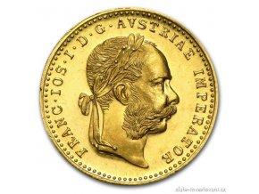 6308 zlaty dukat frantiska josefa i novorazba 1915