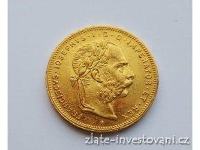 6332 zlata mince osmizlatnik frantiska josefa i rakouska razba 1882