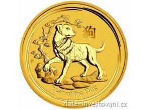 6344 investicni zlata mince rok psa 2018 1 kg