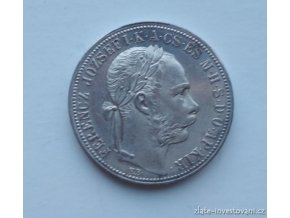 6371 stribrny 1 zlatnik frantiska josefa i 1888 k b