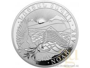 Stříbrná mince Archa noemova 5kg 2018