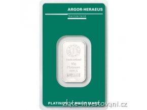6515 investicni platinova cihla argor heraeus 10g