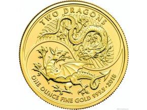 6533 investicni zlata mince dva draci 2018 velka britanie 1 oz
