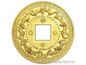 6557 zlata mince patero pozehnani 2018 proof kanada 1 oz