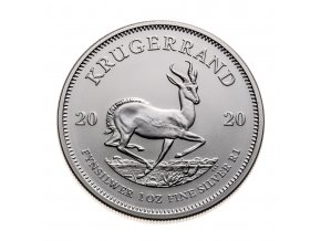 Investiční stříbrná mince Krugerrand  1 Oz