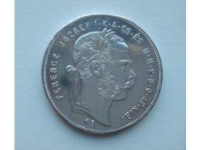 6881 stribrny 1 zlatnik frantiska josefa i 1879 k b