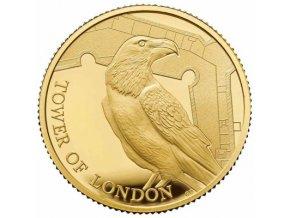 Zlatá mince Legend of the Ravens 2019-proof