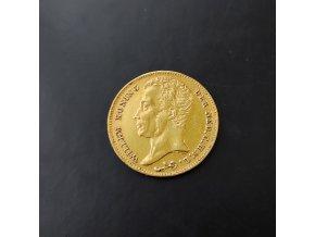 Zlatý 10 gulden1825 Wilém I.