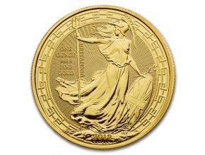 Investiční zlatá mince Britannia -2019 - orientální motiv 1 Oz