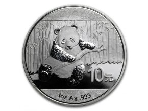 Investiční stříbrná mince Panda 2014 1 Oz