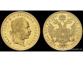 4592 zlaty dukat frantiska josefa i 1896