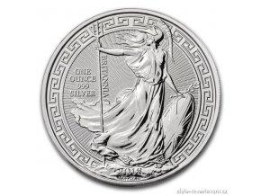 6209 investicni stribrna mince britannia 2018 orientalni motiv 1 oz