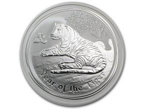 Investiční stříbrná mince rok Tygra 2010 1 Kg