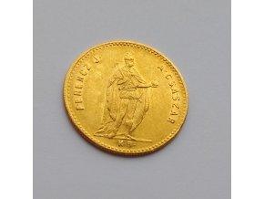 Zlatá mince uherský Dukát Františka Josefa I.-1869 K.B.