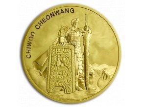 Investiční zlatá mince Chiwoo Cheonwang 2019-Jižní Korea 1 Oz
