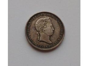 Korunovační žeton Ferdinand V. 1836-Praha