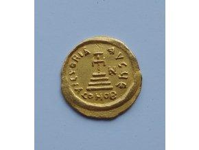 Zlatý Solidus Heraclius (610 -641 n.l.) -  Byzanc