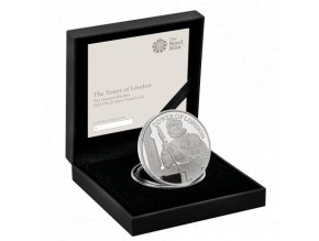 Stříbrná mince série  The tower of london-the yeoman warders 2019 Silver Proof 5 GBP